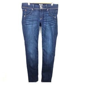 Hudson Collin Flap Skinny Dark Wash Jean size 27
